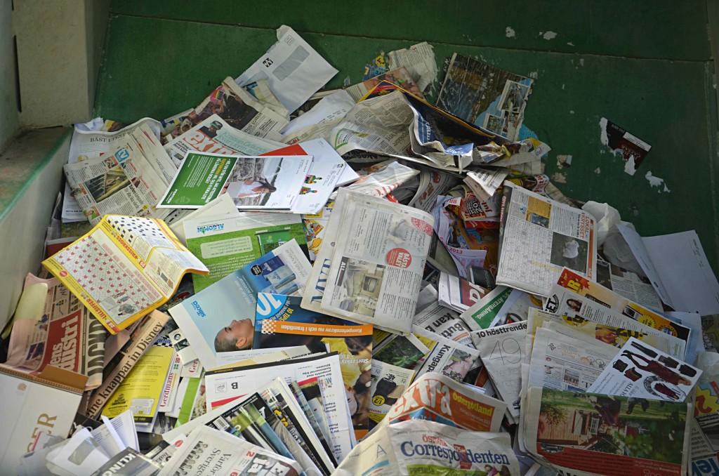 Pappersförbrukning