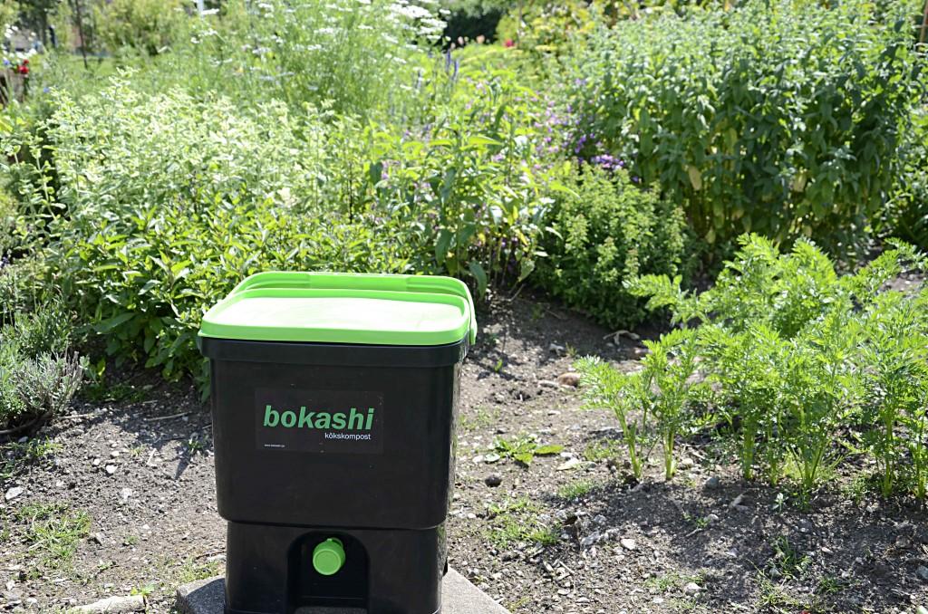 Kompostera med bokashi