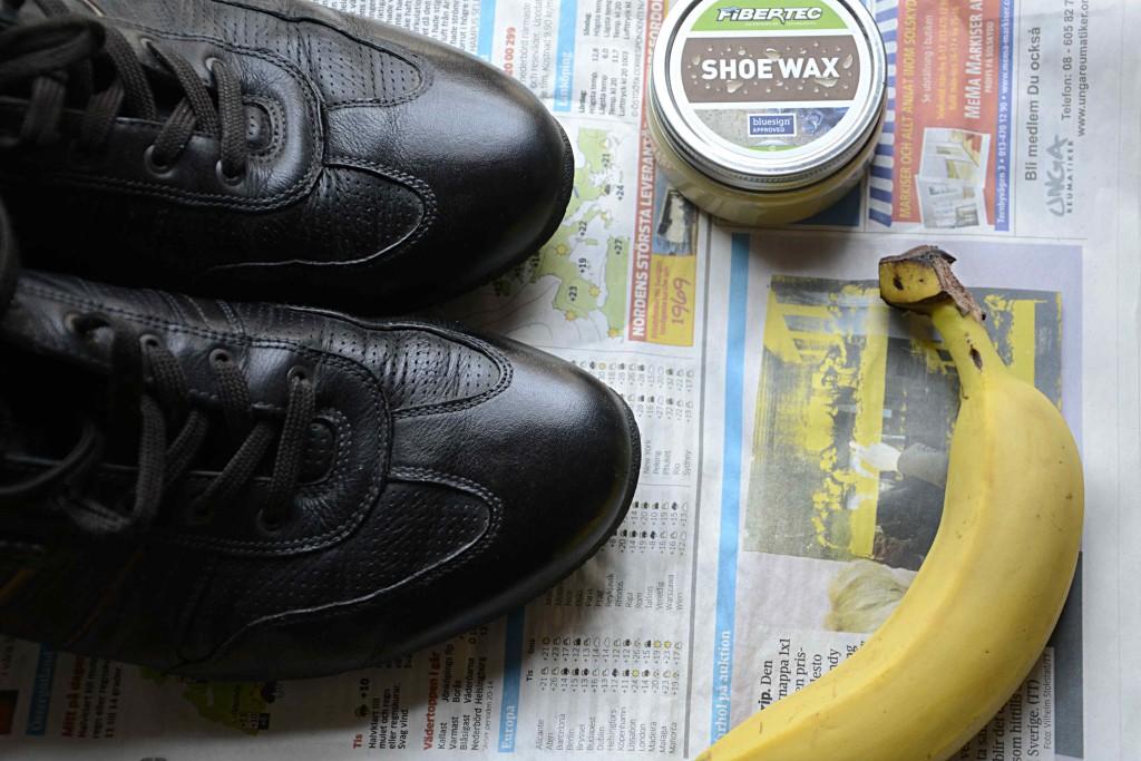 Vårda skor giftfritt