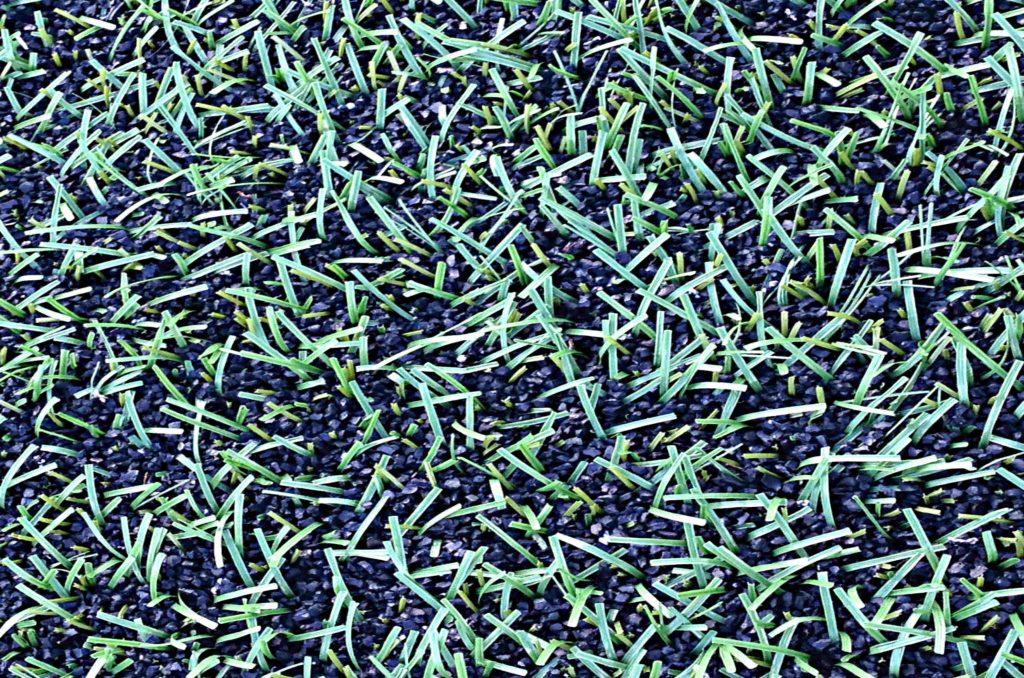 Konstgräs sprider mikroplast