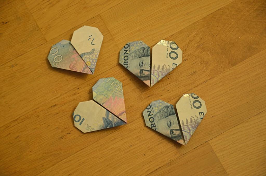 Hjartepengar