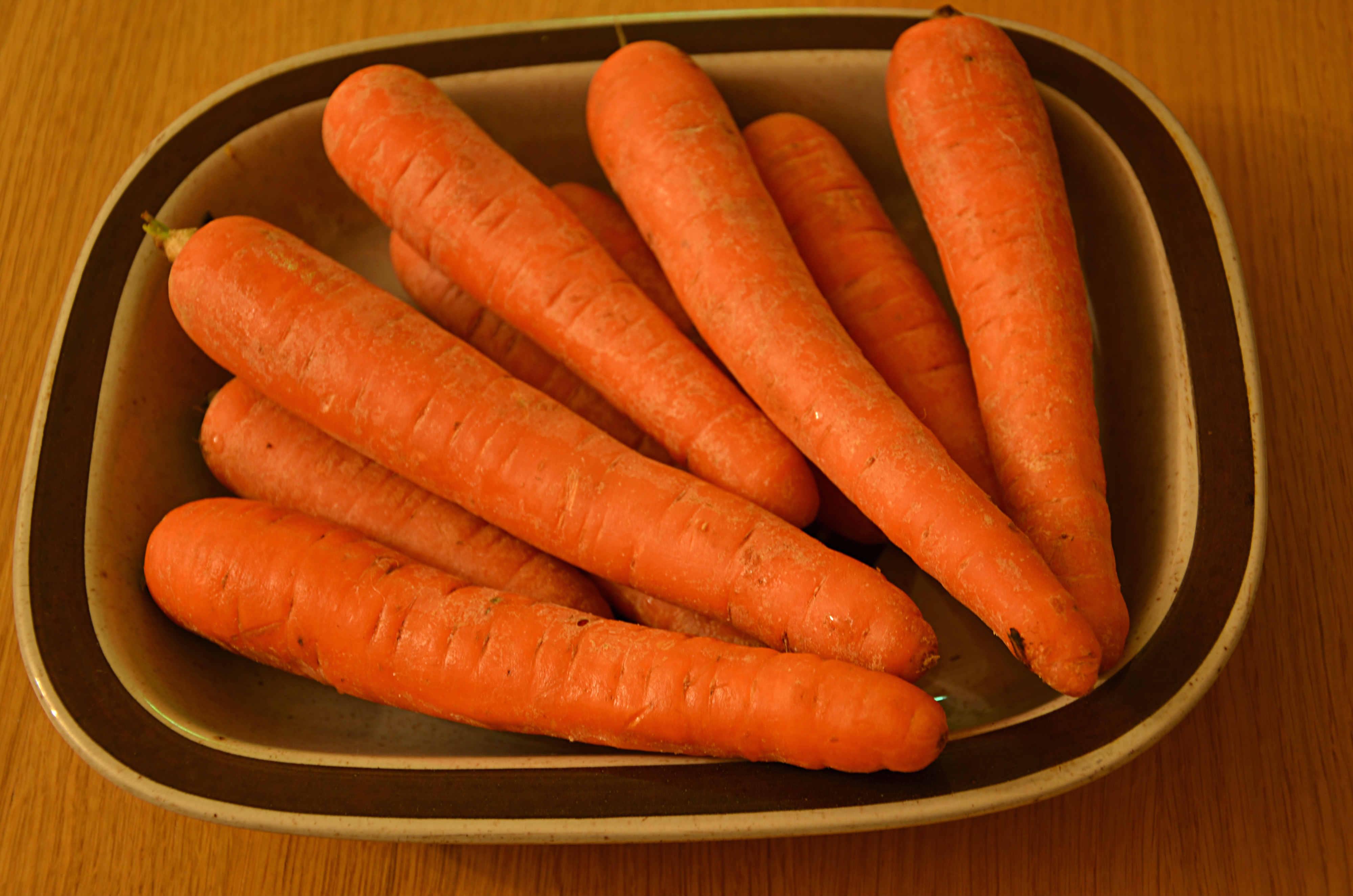 mat med morötter