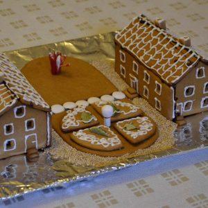 Dahlströmska gården som pepparkakshus