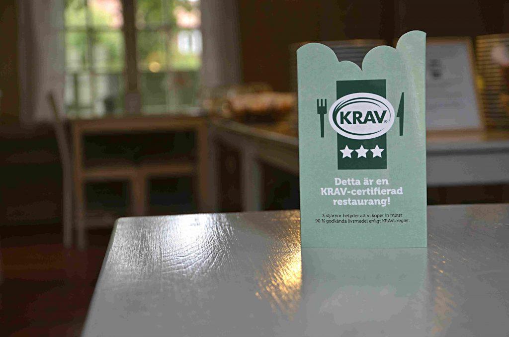 Dahlströmska gårdens KRAV-certifiering